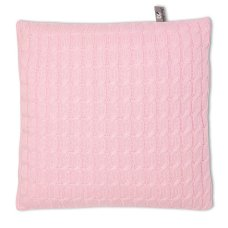 Baby's Only Pillow 40 x 40 Cable Baby Pink