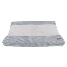 Baby's Only Changing Pad Cover Sun Gray with Silver Gray