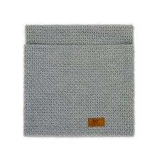 Baby's Only Cot Blanket Robust Grain Uni Gray