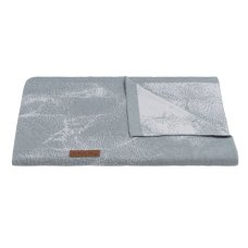 Baby's Only Cot blanket Marble gray / silver gray