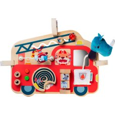 Lilliputiens Fire Truck Activities Panel