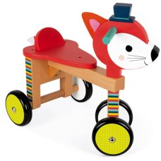 Janod Baby Forest Loopfiets Vos