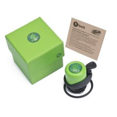 Wishbonebike Bicycle Bell Green