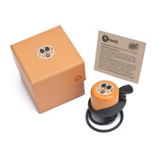Wishbonebike Bicycle Bell Orange