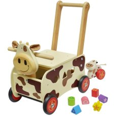 I'm Toy Carriage Cow Brown