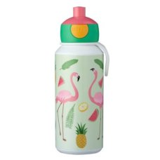 Drinking Bottle Campus Pop-Up 400 ml Tropical Flamingo