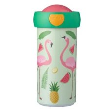 School Cup Campus 300 ml Tropical Flamingo