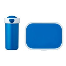 School Cup and Lunchbox Blue