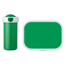 School Cup and Lunchbox Green