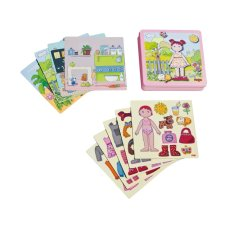 Haba Magnetic Box Dressing Doll Lilli