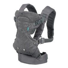 Infantino Baby Carrier Flip 4 in 1 Convertible Gray