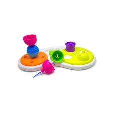 Lalaboom 8 pieces Beads Education Board