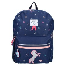 Milky Kiss children's backpack live love ride horse small