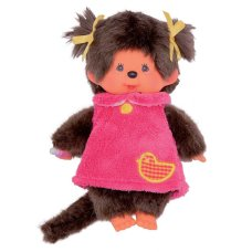 Monchichi 20 cm Girl Pink Fluffy