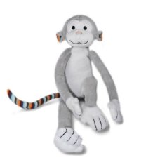 Zazu Toddler cuddle Max the Monkey