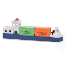 New Classic Toys Inland vessel with 2 Containers