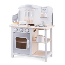 New Classic Toys Kitchen Bon Appetit White with Silver