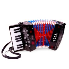 New Classic Toys Accordion Black