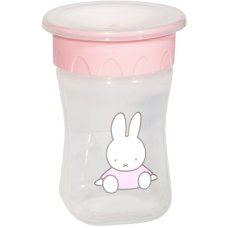 Miffy Anti leak cup 360 ° 300ml Pink