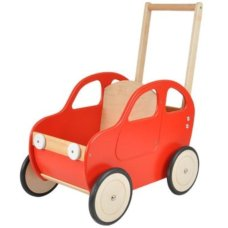 Playwood Carriage Car Red