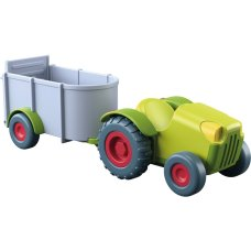 Haba Little Friends Tractor with Trailer