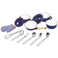 Tidlo Cooking set Blue