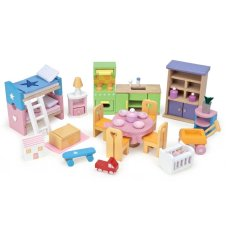 Le Toy Van Poppenhuis Furniture set Starters