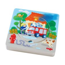 Haba Insect Puzzle Firefighter Action