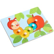 Haba Inlay puzzle Caterpillar Mina