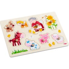 Haba Inlegpuzzle the Animals from Oma Linda