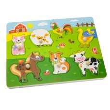 Viga Toys Knoup Puzzle with Sound Farm
