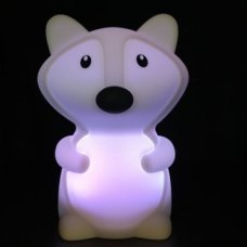Silicone Night Light Fox Small
