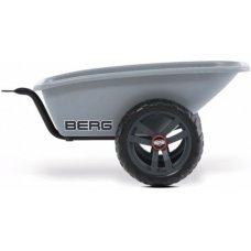 Berg Skelter Buzzy Trailer Gray