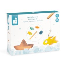 Janod bath toy fishing game