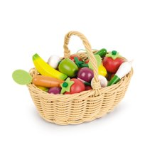 Janod basket with fruit and vegetables