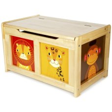 Tidlo Toy box Jungle Naturel