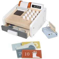 Tryco wooden cash register