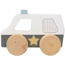 Tryco wooden police car