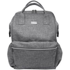 Isoki Backpack / diaper bag Elliot Gray Melange