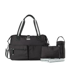 Isoki nursery bag / diaper bag Pocket Bag Lennox Black