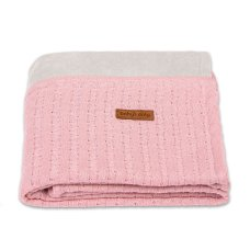 Baby's Only Baby Crib Blanket Chenille Fine Old Pink