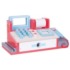 BigJigs Cash Register with Scanner Red