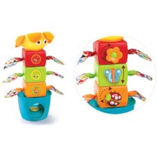 Yookidoo Stacking Tower Stack Flap Tumble
