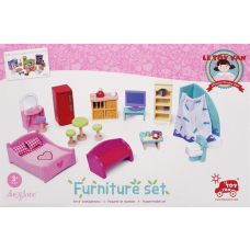 Le Toy Van Dollhouse Furniture Set Deluxe